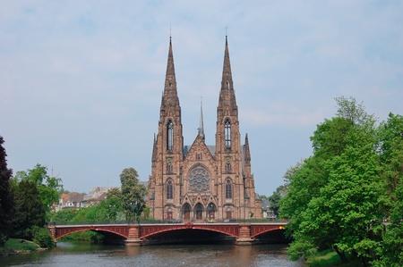 KoÅ›ciół Å›w PawÅ'a - Strasbourg, Francja Zdjęcie Seryjne