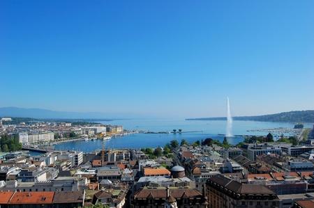 Genewskiego, Szwajcaria Zdjęcie Seryjne