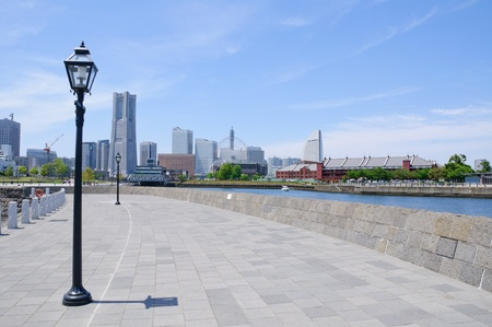 Minato Mirai 21 - Yokohama, Japan Lizenzfreie Bilder