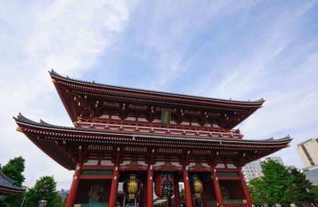 Senso-ji Temple - Asakusa, Tokyo  Editorial