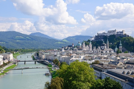the world cultural heritage: Salzburg, Austria
