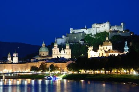 Salzburg, Österreich Standard-Bild - 9769786