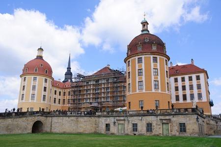 Castle Moritzburg near Dresden, Germany 版權商用圖片