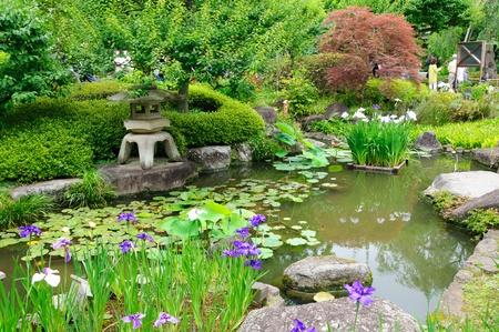 Japanischer Garten Standard-Bild - 10047344