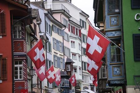 A street of Zurich, Switzerland