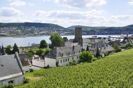 Rüdesheim, Deutschland Lizenzfreie Bilder