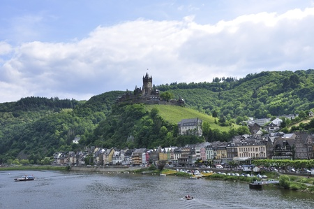 tourisms: Cochem, Germany