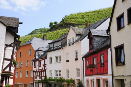 half timbered house: Bernkastel Kues, Germany