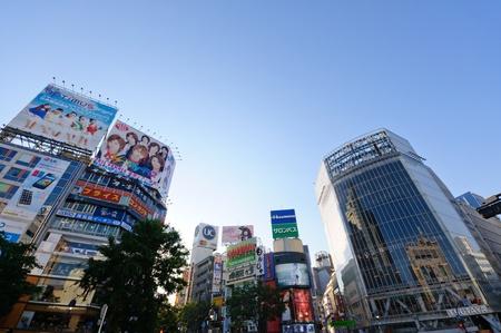 tourisms: Shibuya area in Tokyo, Japan