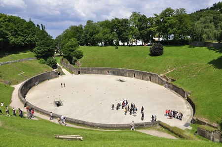 Amphitheater in Trier, Deutschland