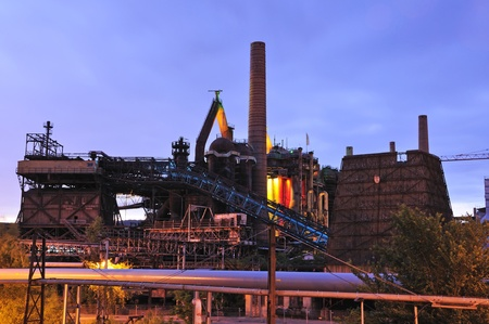 tourisms: Voelklingen Ironworks in Germany Editorial
