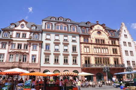 Market Place in Mainz, Germany