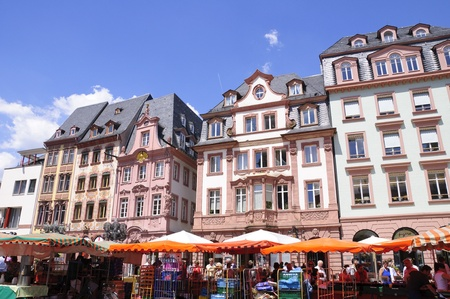 market place: Market Place in Mainz, Germany