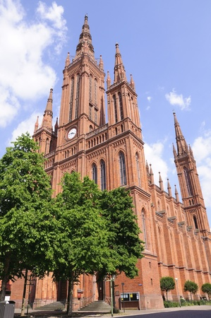 tourisms: Marktkirche in Wiesbaden, Germany