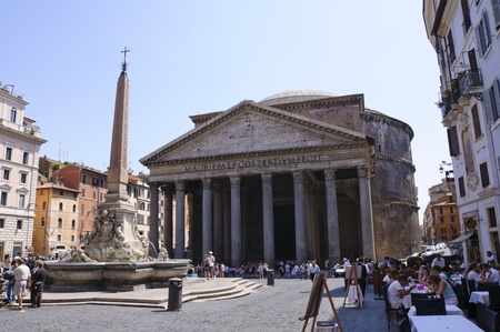 Pantheon - Rom, Italien Editorial