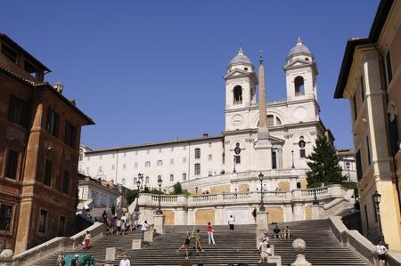 Piazza di Spagna - Rome, Italy Editorial