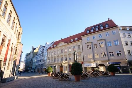 Stadtansicht von Augsburg, Deutschland