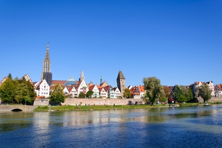 Old Town of Ulm, Germany Stock Photo