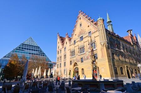 Rathaus von Ulm, Deutschland