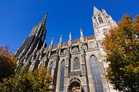 Ulm Cathedral in Germany photo