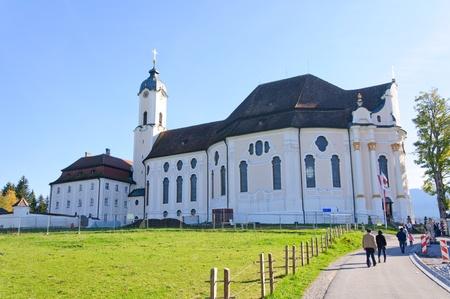peregrinación: Iglesia de peregrinaci�n Wies Editorial