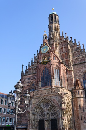 Frauenkirche (Church of Our Lady) in Nuremberg, Germany photo