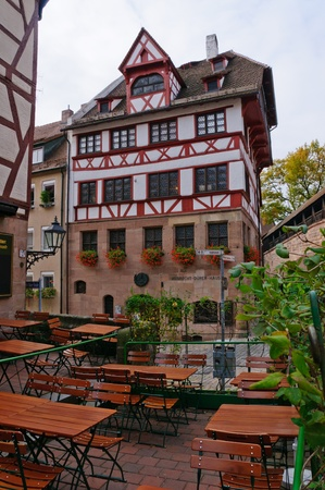 Duerer Haus in Nuremberg, Germany