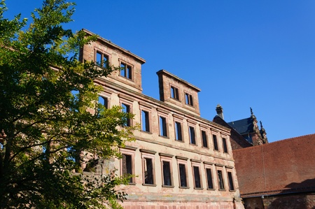 Heidelberg Castle in Germany photo