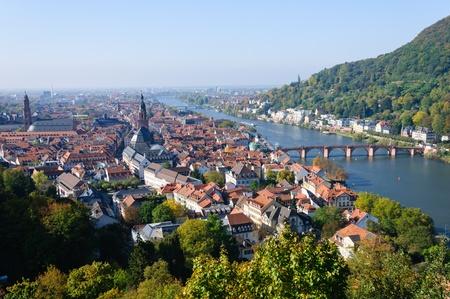 Stadtansicht von Heidelberg, Deutschland