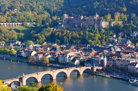 theodor: Heidelberg, Germany Stock Photo