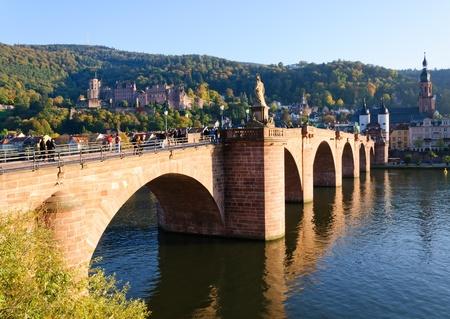 Schloss und die Altstadt in Heidelberg, Deutschland Standard-Bild - 12387769