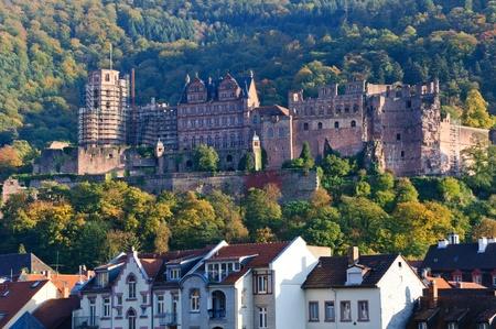 Heidelberger Schloss in Deutschland