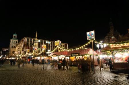 Christkindlesmarkt  Christmas market  in Nuremberg, Germany Stock Photo - 12322357