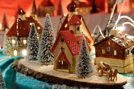 Weihnachtsmarkt in Deutschland Standard-Bild - 12387785