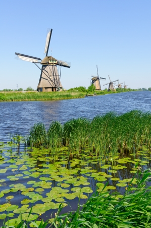 Mill Network at Kinderdijk-Elshout, Niederlande