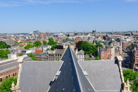 View from the Westerkerk, Amsterdam, Netherlands photo