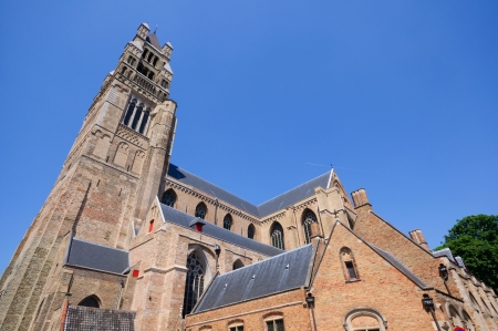 salvator: The St  Salvator s Cathedral in Bruges, Belgium
