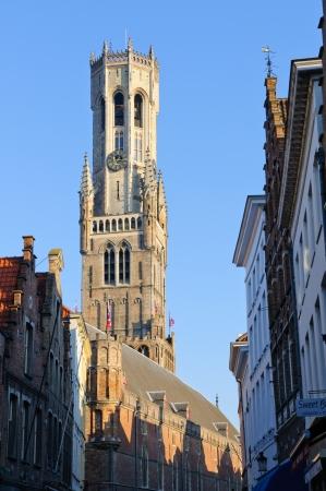 belfry: Belfry in Bruges, Belgium