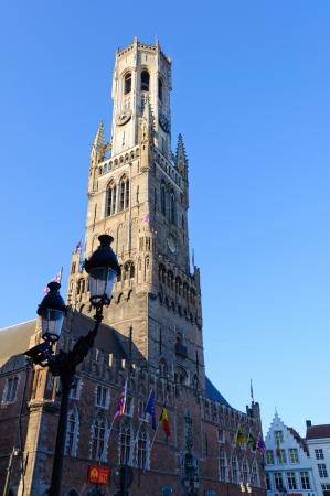 Belfry in Bruges, Belgium