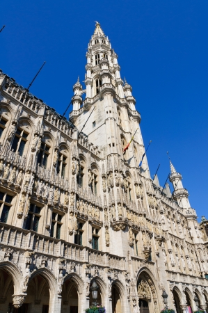 Hotel de Ville  City Hall  of Brussels, Belgium