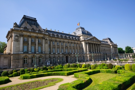 palais: Palais Royal in  Brussels, Belgium Editorial