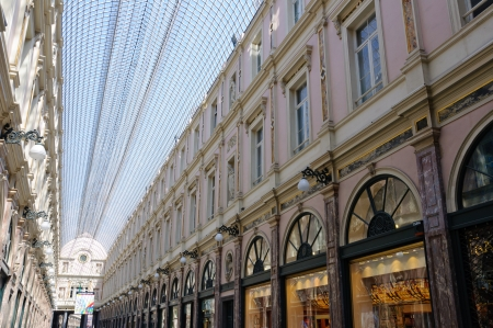 Galeries St-Hubert in Brussels, Belgium