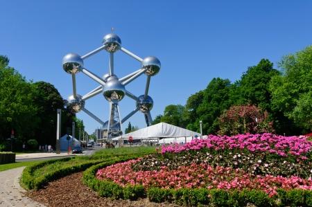 brussels: Atomium in Brussels, Belgium