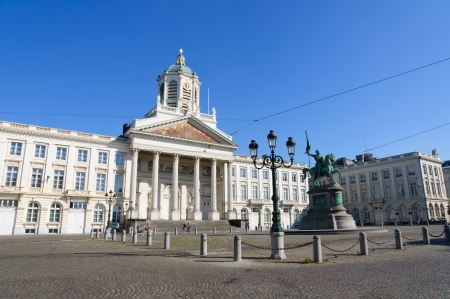 royale: Place Royale in Brussels, Belgium Editorial