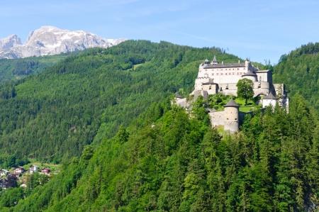 burg: Burg Hohenwerfen in Werfen, Austria