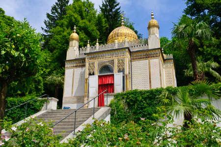 Der maurische Kiosk am Schloss Linderhof in Deutschland Editorial