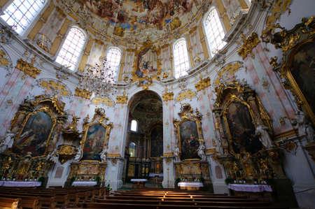 ettal: Ettal Abbey in Upper Bavaria, Germany