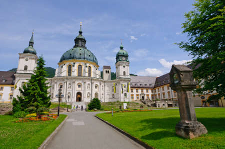 Ettal Abbey in Upper Bavaria, Germany