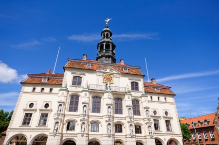 The Town Hall of Luneburg, Germany
