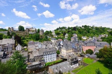 Die Altstadt von Monschau, Deutschland